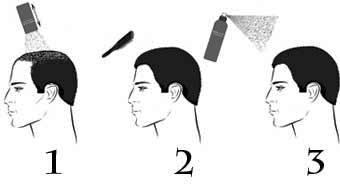 Maschera per capelli per inumidimento e uno splendore di capelli