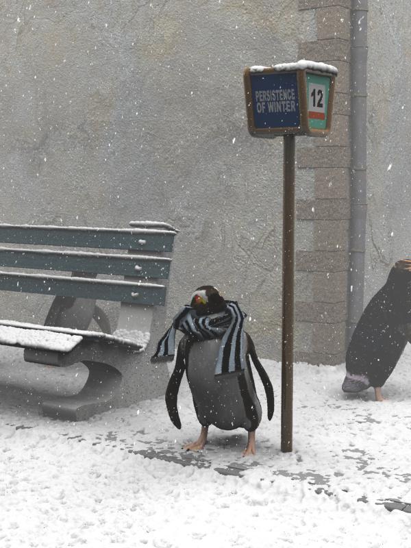Tende pesanti contro il freddo