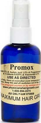 Promox con finasteride