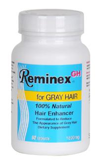 Reminex è un integratore alimentare specifico contro i capelli bianchi